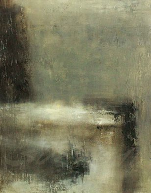 Surabhi Gulwelkar; Untitled, 2016, Original Painting Acrylic, 24 x 30 inches. Artwork description: 241 Space, Abstract expression, gray theme, depth...