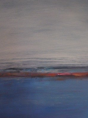 Susan Grissom; Water, 2008, Original Painting Oil, 16 x 20 inches. Artwork description: 241  Abstract of sea ...