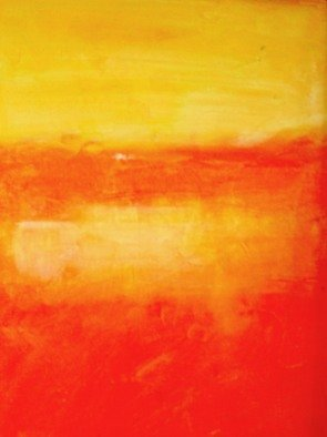 Susan Grissom; Dream, 2008, Original Painting Acrylic, 8 x 10 feet. Artwork description: 241  abstract in yelows and red ...