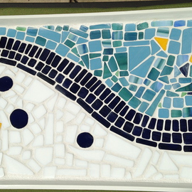 Suzanne Mcclelland, , , Original Mosaic, size_width{Abstract_glass_Mosaic_Tray-1464751643.jpg} X 2 inches