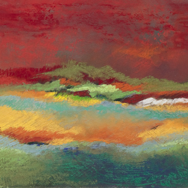 Suzanne Mcclelland, , , Original Pastel, size_width{Before_the_Storm-1248804088.jpg} X 13 inches