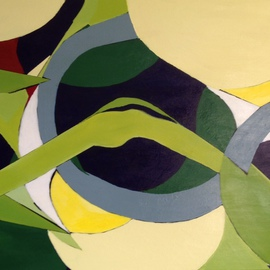 Suzanne Mcclelland, , , Original Painting Acrylic, size_width{Interlocking_Passages-1396030494.jpg} X 30 inches