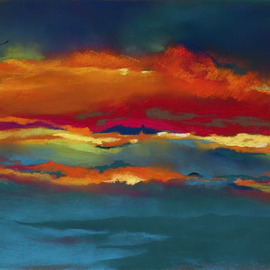 Suzanne Mcclelland, , , Original Pastel, size_width{Soaring-1263353711.jpg} X 20 inches