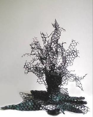 Sylvia Volpi; ROOTS AND THORNS I, 2005, Original Sculpture Mixed, 45 x 55 cm.