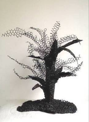 Sylvia Volpi; ROOTS AND THORNS  II, 2005, Original Sculpture Mixed, 45 x 55 cm.