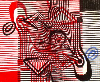 Tarrvi Laamann; 3, 2012, Original Printmaking Woodcut, 50 x 40 cm. Artwork description: 241      rare woodcutprint by www. laamann. ee    www. laamann. ee www. facebook. comTarrviLAAMANN ...