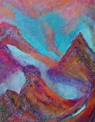 Tary Socha; Etheral Peaks, 2005, Original Painting Acrylic, 18 x 24 inches. Artwork description: 241 Contrasts of positive and negative space and atmosphere and land masses create interesting configurations. This won the First Place Award for Aesthetics and Harmony in a 2005 exhibit. Acrylic on canvas....