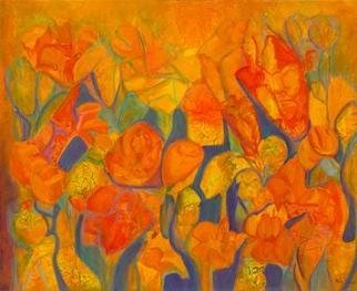 Tary Socha; Summer Growth, 2006, Original Painting Acrylic, 30 x 24 inches. Artwork description: 241 Impressions of growing plant forms amidtst the warmth of Summer. Mixed Acrylics mediums on gallery wrapped canvas....