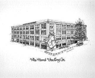 Terri Flowers, Hand Trading Company, 2005, Original Drawing Pen, size_width{Hand_Trading_Company-1458053412.jpg} X 20 inches