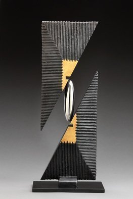 Ted Schaal; Prime, 2015, Original Sculpture Mixed, 10 x 30 inches. Artwork description: 241  Prime combines all of my favorite elements from other sculptures into one...