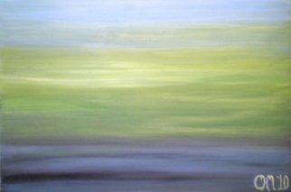 Tina Martin; Between Every Moment, 2011, Original Painting Acrylic, 36 x 24 inches. Artwork description: 241  seascape, muted color  ...