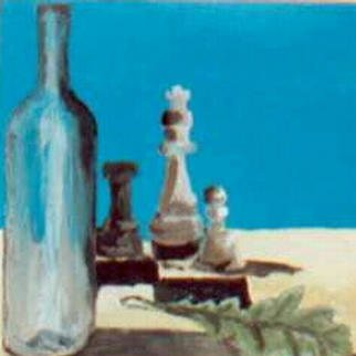 Teresa Andree; Chess, 2002, Original Painting Other, 30 x 30 cm.