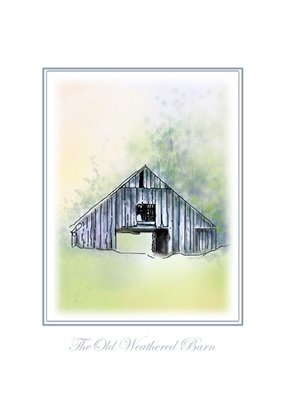 Tammy Fleetwood Moody; The Old Weathered Barn, 2008, Original Digital Art, 16 x 20 inches. Artwork description: 241  This is digital art done as a digital watercolor and ink landscape. The Old Weathered Barn is a giclee poster which measure 16x20 and it does not come in a frame nor does it come with a matt. What you see is what you get ...