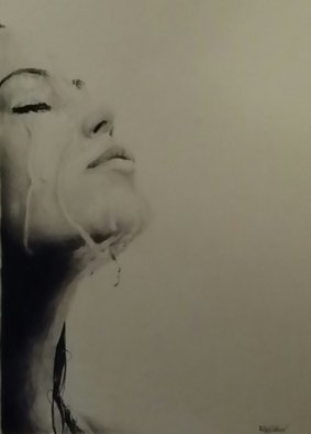 Adam Burgess; Raining, 2014, Original Drawing Charcoal, 11 x 17 inches. Artwork description: 241      There is a limited print run of 25 of these available.         ...