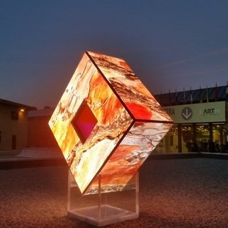 Tim Guider; Enlightenment, 2017, Original Installation Outdoor, 2 x 3 m. Artwork description: 241 This work smoothly combines Installation art, Sculpture, Video art, and Digital art. It is a world first. ...