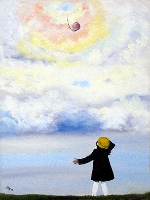 Pamela Benjamin; Keepsake, 2008, Original Painting Oil, 18 x 24 inches. Artwork description: 241  I painted this in remembrance to a childhood incident. ...