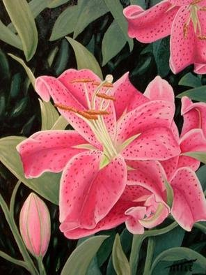 Robert Tittle; THE LILY, 2004, Original Painting Oil, 20 x 16 inches.