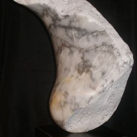 Terry Mollo, , , Original Sculpture Stone, size_width{Moonstruck-1348670343.jpg} X 17 inches