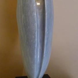 Terry Mollo, , , Original Sculpture Stone, size_width{Shell_With_Pearl-1126988970.jpg} X 22 inches