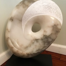 Terry Mollo, , , Original Sculpture Stone, size_width{eye_of_the_storm-1533839293.jpg} X 21 inches