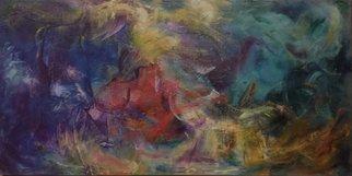 Susan Cantor-Uccelleti; A Time For Souls Of The D..., 2016, Original Painting Oil, 30 x 15 inches. Artwork description: 241  movement, depth, abstract, insight ...