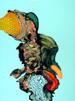 Bruce Riley; Biomorph, 2008, Original Painting Other, 36 x 48 inches.