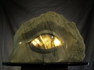 Depasquale Sculptures; Of the Light, 2010, Original Sculpture Stone, 27 x 18 inches. Artwork description: 241  The lamp of the body is the eye. The vision of this sculpture emulates, ( of the light) , the righteous part in each and everyone of us.By dishing out the back side of the eyeball itself, I was able to create the fourth dimension of light which ...