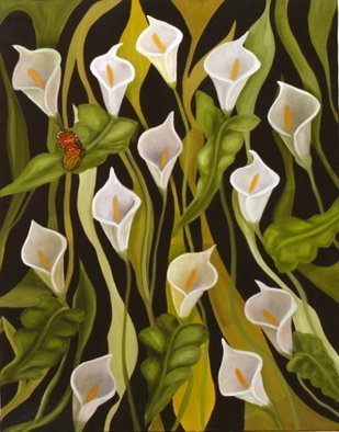 Vanessa Guimelli; Monarch, 2006, Original Painting Oil, 24 x 36 inches.