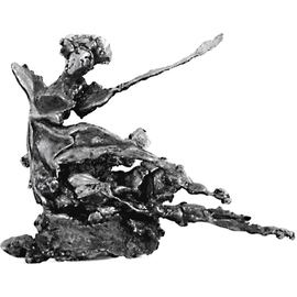 Valeria Sepulveda, Dancer, 2007, Original Sculpture Steel, size_width{Dancer-1217297113.jpg} X 12 x  cm