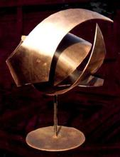 Artist: Valeria Sepulveda's, title: EARTH, 2006, Sculpture Steel