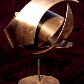 Valeria Sepulveda, EARTH, 2006, Original Sculpture Steel, size_width{EARTH-969398475.jpg} X 77 x  cm