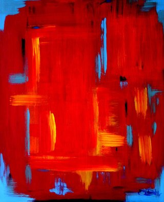 Vanessa Bernal; Red Planet, 2007, Original Painting Acrylic, 24 x 30 inches. Artwork description: 241  Abstract Expressionism, Expressionist, Abstract, Modern Art,             ...