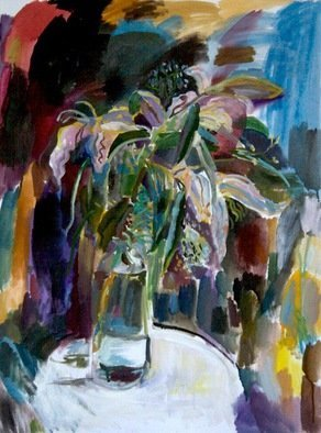 Velemir Pankratov; Lilies, 2013, Original Painting Oil, 60 x 80 cm. Artwork description: 241  flowers      ...