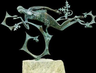 Vadim Kirillov; Eve, 2002, Original Sculpture Bronze, 75 x 45 cm.