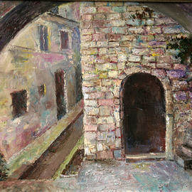Vladimir Volosov, , , Original Painting Oil, size_width{old_town-1510678660.jpg} X 13 inches