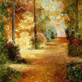 Vladimir Volosov, , , Original Painting Oil, size_width{palette_of_autumn-1527301709.jpg} X 24 inches