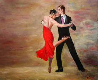 Vladimir Volosov, the dance, 2017, Original Painting Oil,    cm