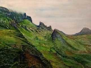 Vlad Lado Doychinov; Scotland, 2018, Original Painting Acrylic, 12 x 10 inches. Artwork description: 241 Scotland. Landscape...