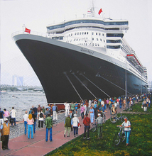 Artist: Volova Volova's, title: Queen Mary2,   nose, 2007, Painting Acrylic