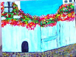 Vincent Sferrino; Spanish Courtyard, 2003, Original Painting Acrylic, 14 x 11 inches. Artwork description: 241  This was painted during a visit to Spain ...
