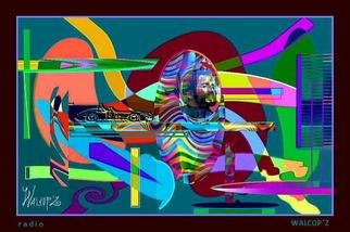 Walcopz Walcopz; Radio, 2014, Original Digital Art,   inches.