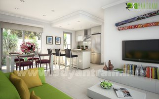 Ruturaj Desai; 3D Yantram Home Interior ..., 2013, Original Animation, 5.5 x 6 inches. Artwork description: 241 Yantram 3d interior designer accomplish this by focusing on the Interior design of projects that are diverse, ecologically respectful, and economically prosperous. Our firm is comprised of individuals trained in a wide range of disciplines including for 3D home interior design. . living room, bedroom, dining room, Kitchen, ...