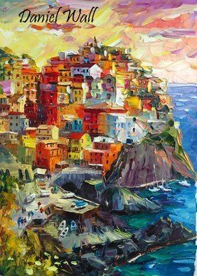 Daniel Wall, Unforgettable Italy, 2015, Original Painting Oil, size_width{Unforgettable_Italy-1456257075.jpg} X 30 x  inches