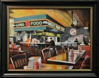 Wayne Wilcox; Dyers Afternoon, 2010, Original Painting Oil, 24 x 18 inches. Artwork description: 241  Dyers Beale Street Memphis   ...