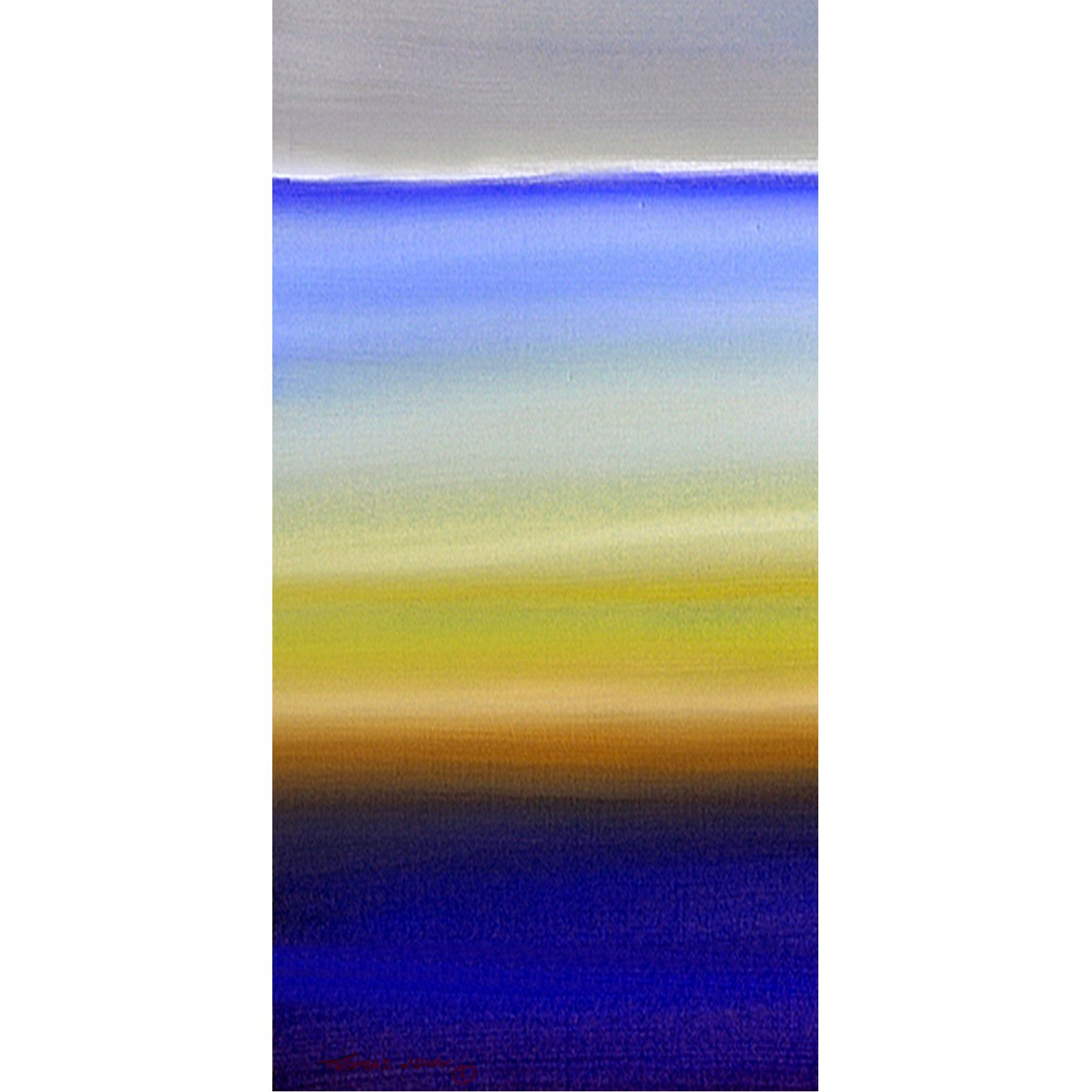 Thomas Gress; Blue Sea Sunset, 2019, Original Painting Acrylic, 24 x 48 inches. Artwork description: 241 OCEAN, BLUE PAINTINGS, WATER SCENES, SKY, SUNSETS, SEA ART, BOATS, BIRDS, LARGE ART, BIG PAINTINGS, CANVAS ART, WIRE, WOOD, SUN, BEACH ART, ...