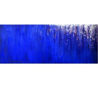 Thomas Gress; Blue Waterfall, 2019, Original Painting Acrylic, 60 x 24 inches. Artwork description: 241 BLUE ART, LARGE PAINTINGS, MURALS, PICTURES, WALL ART, WALL HANGINGS, DECORE, HOME AND GARDEN, MODERN ART, ...