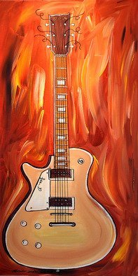 Thomas Gress; Gibson Les Paul Guitar Fantasy, 2019, Original Painting Acrylic, 48 x 24 inches. Artwork description: 241 MUSICAL ART, ORIGINAL PAINTINGS, POP ART, GUITARS, LES PAUL, ORIGINAL ART, LARGE PAINTINGS, FRAMES, COARTOONS, MODERN ART, CONTEMPORARY PAINTINGS, FINE ART, ...