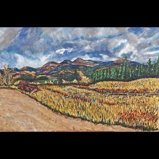 Mark Smith; Rusty Pickup Three, 2011, Original Painting Acrylic, 24 x 30 inches. Artwork description: 241 Landscape after Van Gogh, Colorado, Hoosier Pass...
