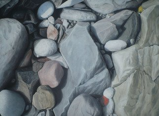 Peter Winberg; Stone Society, 2008, Original Painting Oil, 70 x 50 cm. Artwork description: 241  The motif is based on a photo taken by me. The largest painting I have ever made. Painted on the sides as well. ...