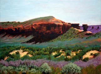 Wm Kelly Bailey; Near Vernal Utah, 2012, Original Painting Acrylic, 12 x 9 inches. Artwork description: 241 Dinosaur Country Near Vernal, Utah acrylic painting on canvas panel is 9 x 12.  Frame OD is 13. 5 x 16. 5 Available. ...